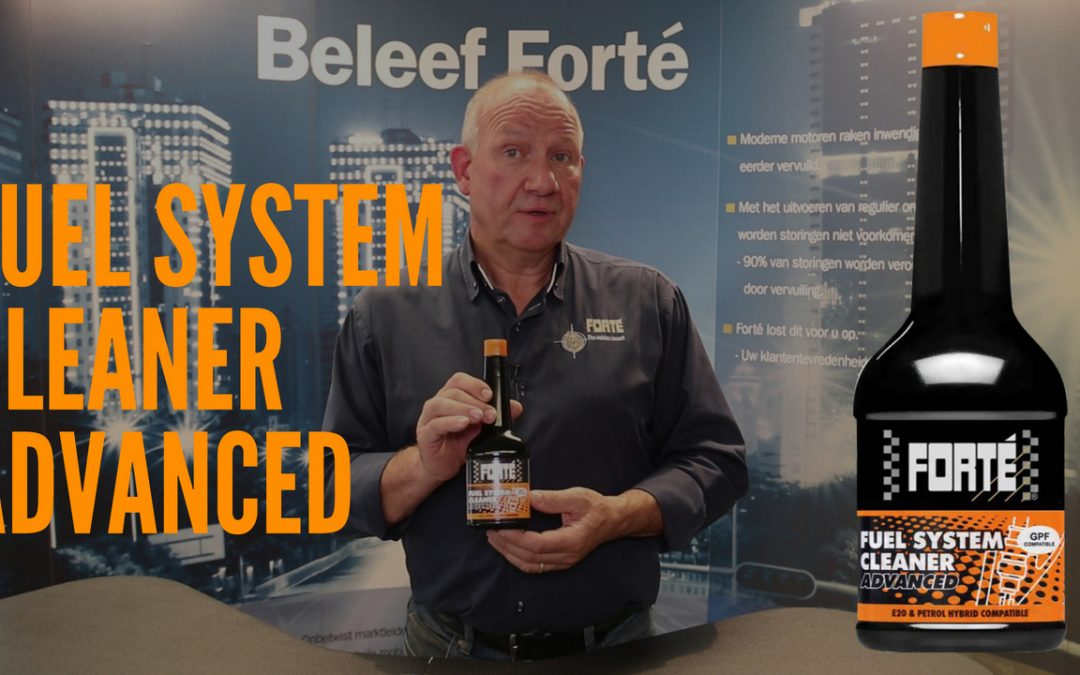 UPDATE: Forté Fuel System Cleaner Advanced