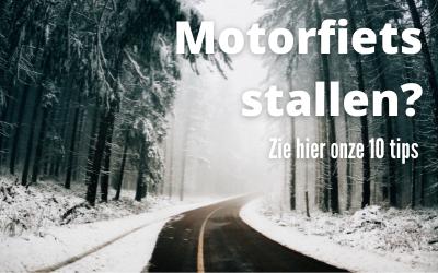 Winterstalling motorfiets TOP 10